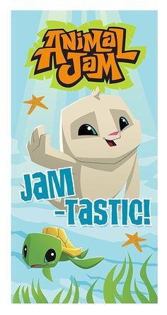 Animal Jam TASTIC Towel