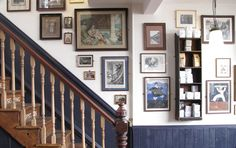 Traditional tea rooms in Brighton, Sussex. Serving Cream Tea, Afternoon Tea, and a wide range of savoury dishhes The Woman In White, Cream Tea, Brighton, Gallery Wall, Staircases, Stairs, Traditional, Wall Art, Wall Galleries