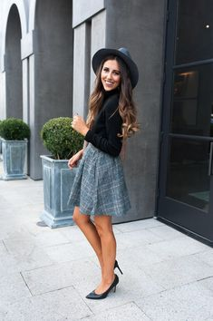 Dress Up Buttercup | Dede Raad | Houston Fashion Blogger | Houston Blog | Fashion Blog | fall skirt | fall plaid skirt