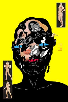 gig poster by Michael Deforge, via Flickr