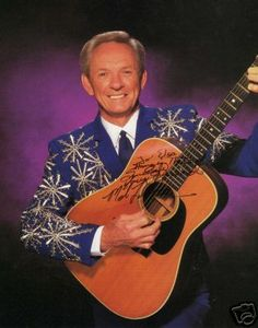 Mel Tillis- a very long time ago, I got to see him in concert.  I was a little girl, but I remember it.