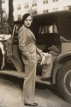 Marlene Dietrich, 1933 in Berlin