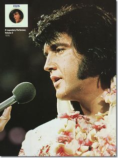 Elvis Presley : Aloha From Hawaii Rehearsal Concert : January 12, 1973 Elvis performed for an audience of 6,000 people at the International Convention Center on January 12, the show was taped as an emergency backup in case of problems with the broadcast show of January 14.
