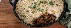 Serve up Clinton's easy-to-make take on this traditional comfort food!
