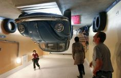 Topsy-Turvy Architecture - The Upside Down House in Terfens, Austria is Disorienting (GALLERY) Upside Down House, The Upside, Exterior Design, Home Interior Design, Austrian Village, Inside A House, Garage House, House Built, Retro Cars