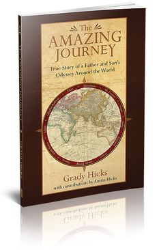 #NewRelease: The Amazing Journey, the true story of a father and son's journey around the world.
