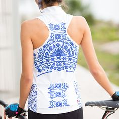 We're going dutch. Terry Women's Sun Goddess Cycling Jersey | Terry Bicycles