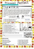 B1 grammar practice. It includes an array of examples of the different uses of the present tenses and a short explanation in order to be used as an introduction in the classroom or as a revision before the exam at home. Key provided. - ESL worksheets