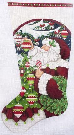 Classic Santa Sock 1506