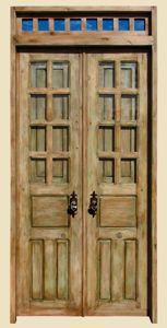 Interior Door with Transom by La Puerta Originals