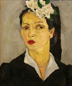 The Irma Stern Trust Collection Portraits, Portrait Paintings, Drawing Sketches, Drawings, South African Artists, Paintings I Love, Face Art, Painting & Drawing, Art History
