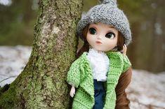 Irma [Pullip Gretel] Hello To Myself, New Dolls, Say Hello, Blythe Dolls, Crochet Hats, Instagram, Fashion, Knitting Hats, Moda