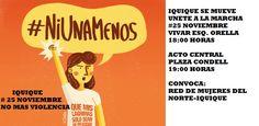 """patricia carvajal en Twitter: """"#IQUIQUE se prepara para marchar #25Nov #NiUnaMenos @MujeresRed @carolinadessire @soledad_ayarza @noticiasiquique @Es_DeIquiquenos https://t.co/gUgmQDlsr5"""""""