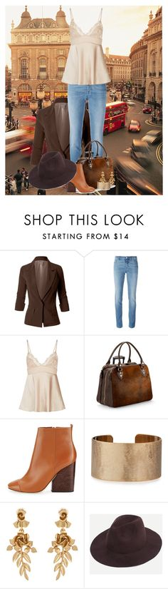 """""""City Girl"""" by ggmusicista on Polyvore featuring LE3NO, Givenchy, Aspinal of London, Tory Burch, Panacea and Oscar de la Renta"""