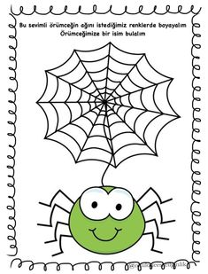 Spider, How To Plan, Halloween, Mart, Prints, Fine Motor, Thoughts, Drawings, Spiders