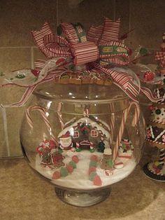 "Cool ""snow globe"" idea~"