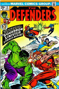 Read The Defenders Issue Online. The Defenders in one page for Free Comic Books For Sale, Comics For Sale, Defenders Comics, Hulk Art, Spiderman Art, Comic Book Collection, Marvel Entertainment, Classic Comics, Comic Page
