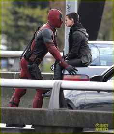 New Set Photos Featuring DEADPOOL, 'Ajax', 'Negasonic Teenage Warhead' And 'Colossus'