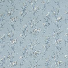papel pintado pussy willow azul mar
