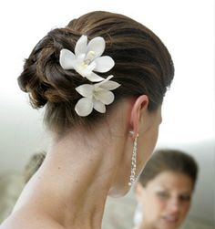 Tocados para novias---> FLOR NATURAL!!... Clásico y hermoso!