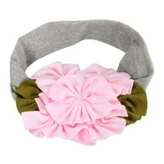 Large Pink Flowers Cotton Girls Baby Newborn Child Kids Toddler Infant Hair Accessories Hairband Headband Headbands Head Band Gray by Crazy Cart. $0.99. Features: 1. With special decorative design, this product is extremely attractive and beautiful 2. Bright color makes your baby lovely and pretty 3. Made of good material, they are soft and comfortable 4. Fashion stretchy headband/ hair band  5. Fancy design with good quality  6. Suitable for any occasion  Specif...