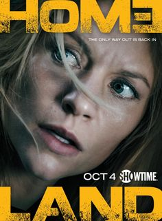 Homeland season 5 - The Only Way Out is Back In.