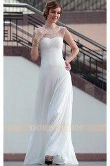 DORISQUEEN wholesale Lace Floor Length Sexy White semi formal dress 30626 Party  Dresses 2014 a5fbc07ed