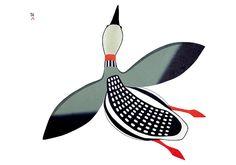Inuit Art: Birds from Cape Dorset Holiday Card Assortment