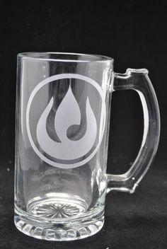 Avatar 16oz. Etched Beer Mug