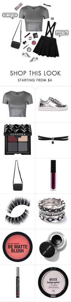 """""""""""someone will love you let me go"""""""" by graceeliza21 ❤ liked on Polyvore featuring Topshop, Abercrombie & Fitch, Versus, Sephora Collection, Fallon, WithChic, Benefit and Sole Society"""