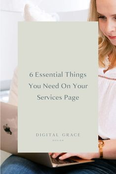 I would argue that your business services page is your second most important page on your website. With that importance in mind, here are 6 essential things you should include when building your services page to create an awesome user experience and convert more website visitors into leads. #BusinessWebsite #WebsiteBuilding Time Management Plan, Web Design Tips, Brand Design, Creative Business, Business Tips, Website Services, Portfolio Website Design, Planner Tips, Social Media Template