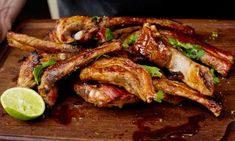 Angela Hartnett's sweet and sour pork ribs with lime and chilli recipe