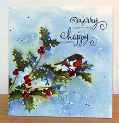 Holly Tweet stamps by Penny Black by Micheline Jourdain, Mimi A La Carte