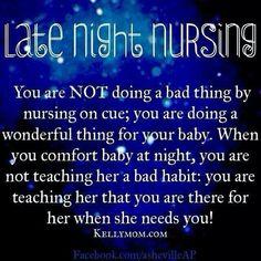 Night nursing
