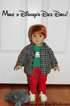 Make a Disney's Dez Doll from an American Girl Doll