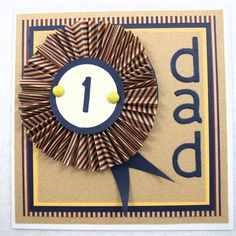 Card, No.1 Dad