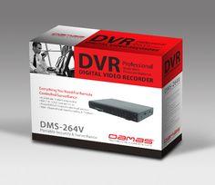 DVR包装设计 包装设计   Shenzhen Packing Design 惟客设计 深圳电子产品包装设计公司 深圳十佳包装设计公司