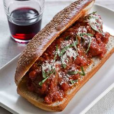 These meatballs are served in a bowl, but they are equally delicious with spaghetti or on a hoagie roll.  Slideshow: More Italian-American Classics ...