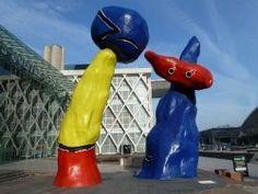 Joan Miro parcours artistique de Paris La Defense