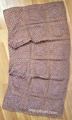 SALAŞ YELEK – Örgü Pınarı Crochet Cord, Easy Crochet, Free Crochet, Hexagon Crochet Pattern, Crochet Patterns, Crochet Cardigan, Crochet Shawl, Manicure Com Glitter, Mini Vestidos