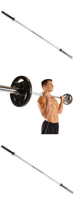 Barbells And Attachments 137864 Cap Olympic Barbell 5 Foot Workout Bar Gym Weight Training