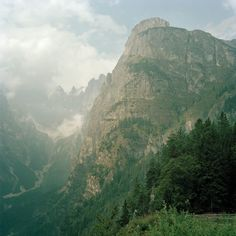 DOLOMITES -- A SECTION OF THE ALPS LOCATED IN NORTHEASTERN ITALY