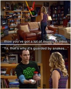 TBBT / The Big Bang Theory - Penny and Sheldon Cooper - quote - screencap Big Bang Theory Quotes, Big Bang Theory Funny, Sheldon Cooper Quotes, Penny And Sheldon, Nerd Love, Tv Quotes, Funny Quotes, Movie Quotes, Qoutes