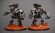 Castellax Redjak Cult Mechanicum w/ Siege-Wrecker.