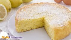 Torta al limone - giallo zafferano
