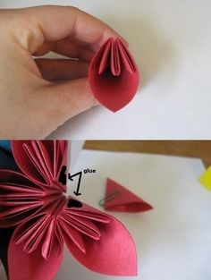Blumen aus Papier basteln-dekoking.com-3