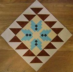 native american quilt patterns -- use #AccuQuilt dies to cut out the shapes for this quilt!