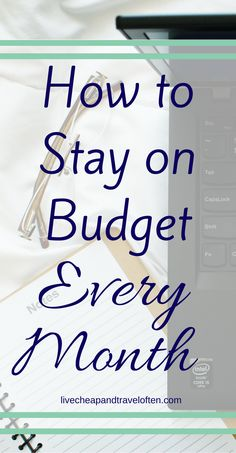 This tip will help you stay on budget every month saving you money- and frustration!