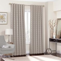 Shop for Eclipse Adalyn Thermalayer Blackout Window Curtain Panel. Get free delivery at Overstock.com - Your Online Home Decor Outlet Store! Get 5% in rewards with Club O!
