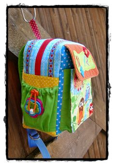 lillesol  pelle Schnittmuster/ pattern: Kindergartenrucksack Rudi